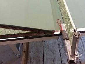 Crochet pour tenir les filets pour robot ping pong