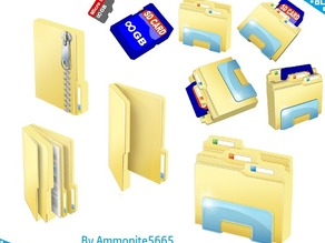 Windows File Explorer and Folders Sd Card Holders