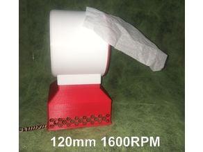 Bladeless fan 120 mm case