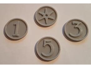 Heroes of Terrinoth (HoT) tokens
