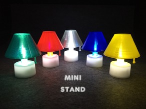 Mini Stand with LED candle