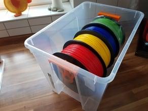 SAMLA Box Filament Spool Holder for 25mm Installationtube