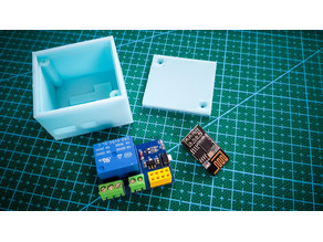 Box for relay unit ESP-01s