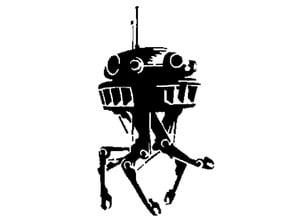 Probe Droid stencil