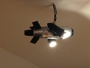 spaceship lamp