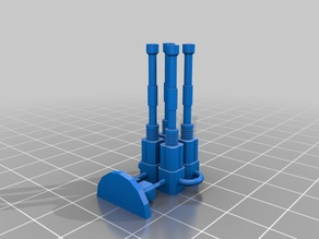 Side Cannons and exhaust for Falchion Proxy and Fell Balde 2 Proxy