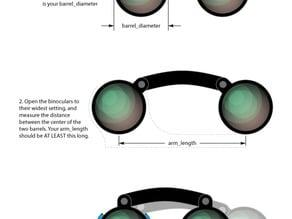 Parametric Heavy Duty Binocular Tripod Mount