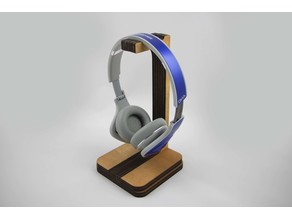 Headphone Stand (Laser Cut)