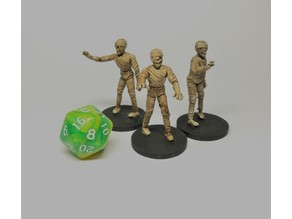 Mummy - 28mm D&D miniature
