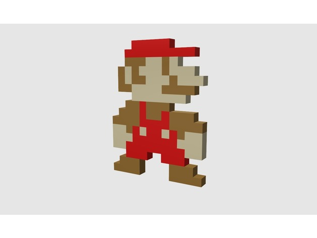 Super Mario Bros - small Super Mario/Luigi sprite by