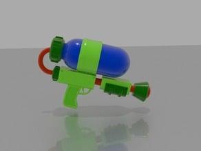 Splatoon ink gun