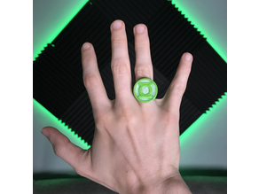 Green Lantern Ring with Inserts