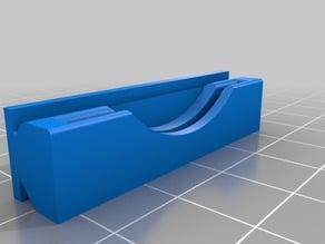 scraper holder v-slot slide on