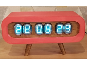 Retro Nixie/VFD Clock (IV-22)