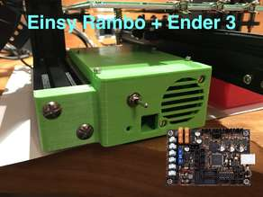 Box for the Einsy Rambo for the Ender 3