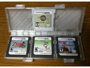 3DS Six Cartridge Clamshell Case