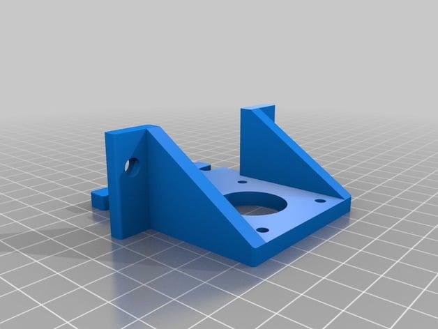 ZYLtech 2020 Aluminum T-Slot Aluminum Extrusion Black 900mm CNC 3D Printer