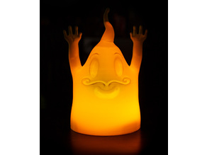 Ghosts for LED lighting / LED Candles