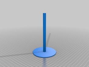 LED Pole for Low Poly Falcon Heavy Rocket