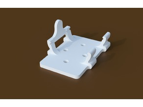 Surface mounting plate for 5vdc power supply
