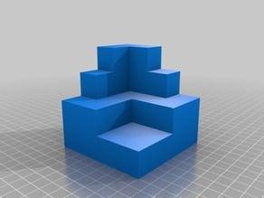 Figuras 3D para trabajar la obtención de vistas ortogonales XIII