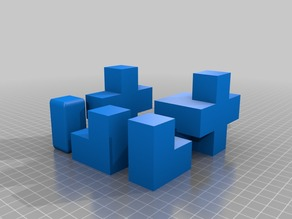 Minecraft Mini Figure Block Formations