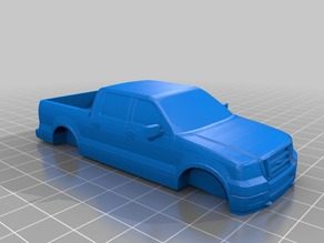 F-150 Pickup Truck Model with Open Bed