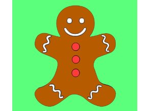 Gingerbread Man # 2