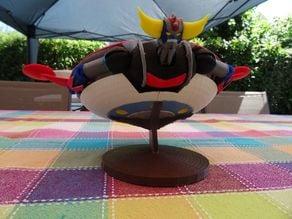 La soucoupe de Goldorak -  UFOロボット グレンダイザー Yūfō Robo Gurendaizā - UFO Robo Grendizer flying saucer