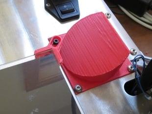 Aluminatus Power Supply Fan Cowling
