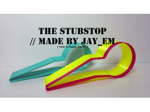 Stubstop the lightweight door stopper