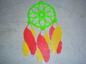 Clip on Feathers for Dreamcatcher