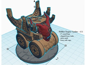 Hellfire Engine - DnD 5e