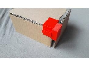 3D Cardboard corner / Coin 3D pour montage en carton