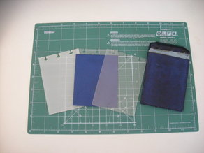 Circa-compatible A7 pocket notebook cover