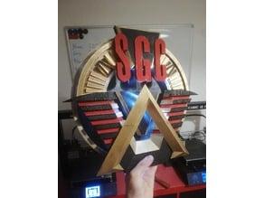 Stargate command logo - SGC