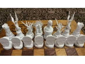 GoT inspired chess board