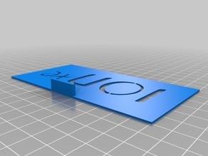 ETC Eos Ion xe - Stencil