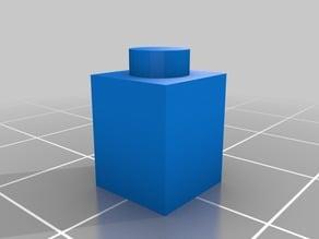 Thin 1 block Lego