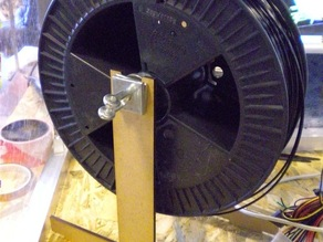 Coil support for 30 cm diameter coils