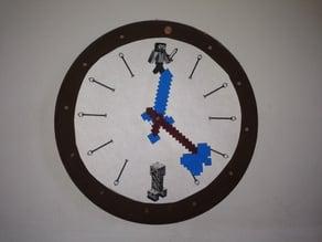 Minecraft Clock Arms