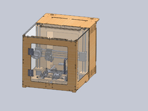 Redesigned Prusa I3 3D Printer