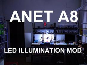 Anet A8 LED Illumination MOD