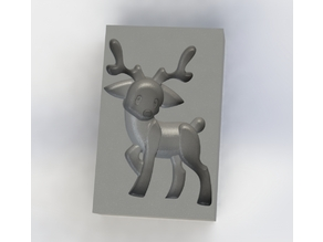 Reindeer Chocolate Mold