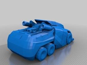 [TF:WFC] Optimus Prime Vehicle Mode