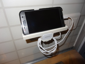Cell Phone Charger Holder Samsung S7