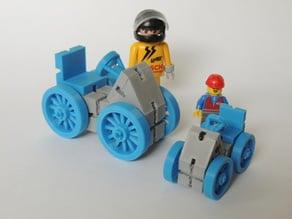 KBricks -- quad and mini quad