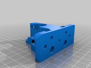 Greg's Wade reloaded extruder body for Rapman hotend