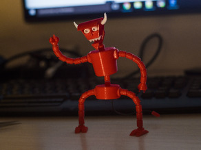Robot Devil (Articulated) from Futurama