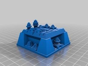 My Customized Futuristic city builder generator AA